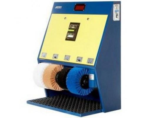 Аппарат для чистки обуви с купюроприемником Eco Line ЭКО Люкс 4 Крем