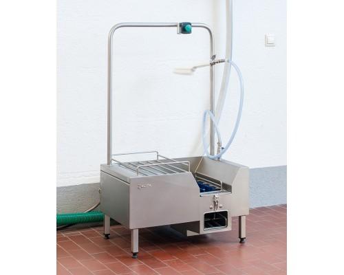 Промышленный аппарат для чистки обуви Heute Neptun SC1