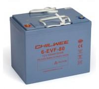 CHILWEE 6-EVF-80 Гелевый аккумулятор 12В, 90 Ач