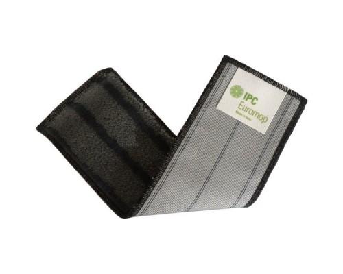 Euromop Плоский МОП 40 с ушками серая микрофибра с абразивом