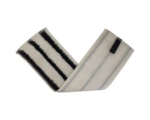 Euromop Плоский МОП 40 на липучках микрофибра с серым абразивом