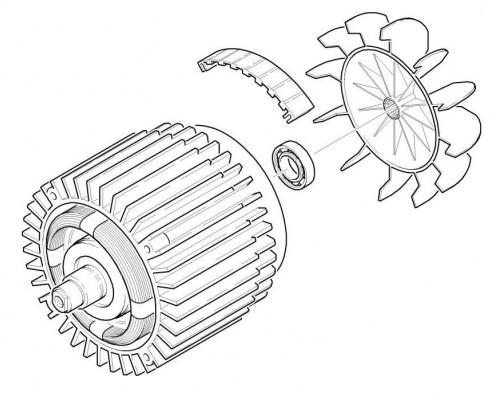 Электродвигатель для K 5